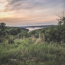 The calm after the storm  Overlooking Lake Norfork in Arkansas