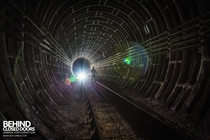 The Camden Rat Hole - Standing on the tracks of an old part of the London Underground tunnels