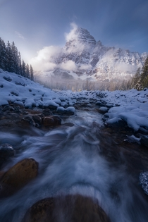 The Canadians Rockies may be my favorite place in the world Incredible in all seasons Banff National Park Alberta - mattymeis