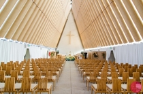 The Cardboard Cathedral Christchurch