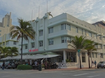 The Carlyle Condos amp Cafe on Ocean Drive Near South Pointe in Miami Beach Florida