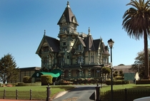 The Carson Mansion home of Ingomar Club Eureka California