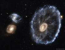 The Cartwheel Galaxy from Hubble