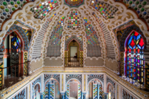 The Castle of Sammezzano in ITALY is a rare example of eclectic and Moorish architecture Over the second half of the th century this formerly medieval castle was transformed into a fine example of the Orientalist fashion by Marchese Ferdinando Panciatichi
