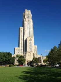 The Cathedral of Learning at the University of Pittsburgh