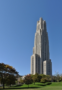The Cathedral of Learning at University of Pittsburgh