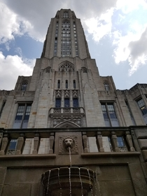 The Cathedral of Learning in Pittsburgh