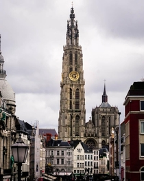 The Cathedral of Our Lady in Antwerp Belgium
