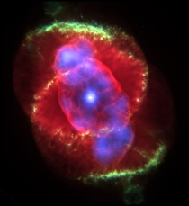 The Cats Eye Nebula captured by the Huble In my opinion the most beautiful thing we have discovered so far