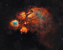 The Cats Paw Nebula