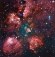 The Cats Paw Nebula NGC