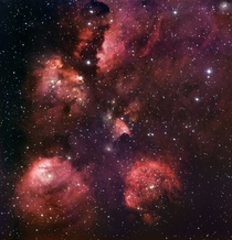The Cats Paw Nebula NGC  ESO   rHI_Res link in comments