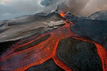 The Cauldron Plosky Tolbachik volcano Russia  Photo by Sergey Gorshkov