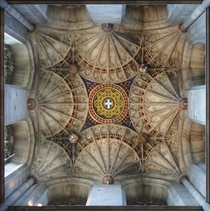The ceiling of Canterbury Cathedral OC