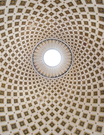 The ceiling of the Mosta Dome in Malta