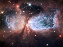 The Celestial Snow Angel Sharpless -