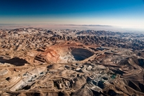 The Cerro Verde copper mine Peru