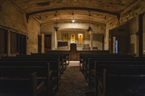 The Chapel of an Abandoned Funeral Home