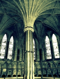 The Chapter House Lincoln Cathedral