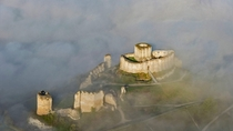 The Chateau Gaillard close to Paris was Richard the Lionhearts French stronghold construction began in