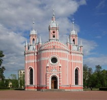 The Chesme Church by Yury Felten - Saint Petersburg Russia