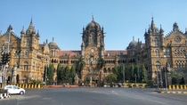 The Chhatrapati Shivaji train station originally Victoria station in Mumbai India Neo-Gothic style built by the British in  The Indian government changed the name of the station but had no desire to demolish such a magnificent structure