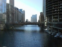 The Chicago River Chicago Illinois