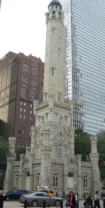 The Chicago Water Tower and Pumping station