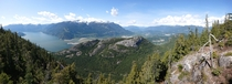 The Chief and area around Squamish BC Canada