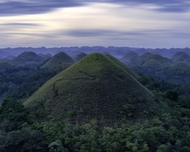 The Chocolate Hills Bohol the Philippines  IG guswoods