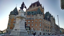 The Chteau Frontenac in Quebec QC Canada Built in