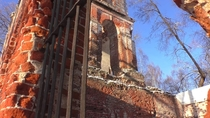 The Church in Russia is destroyed Vladimir region
