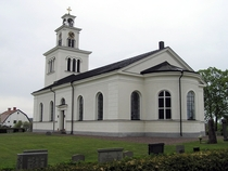 The church in the village of  Sweden