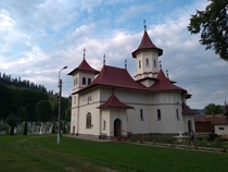 The Church of the Nativity of the Mother of God from Putna Suceava county Romania