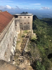 The citadel in Haiti built in  to protect in case of future French invasion