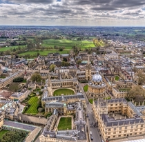 The city of dreaming spires Oxford UK