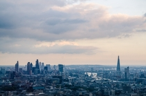 The City of London and The Shard