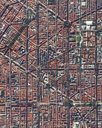 THE CITY OF MILAN ON LOCK-DOWN - along with the surrounding provinces about  million people live in the quarantined area which is more than a quarter of Italys population Image by Maxar