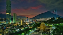 The City of Monterrey El Obispado and the Highest Tower in Latin America - TOp