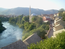 The City of Mostar Bosnia