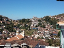 The city of Ouro Preto is one of the oldest in Brazil its classic architecture and the many scattered cathedrals give the impression that the city has stopped in time