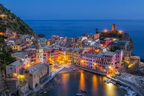 The classic shot of Vernazza Liguria Italy
