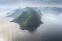 The Claws of the Dragon Senja Norway  by