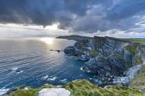 The cliffs of Kerry outside of Portmagee in western Ireland