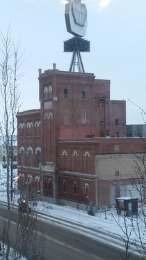 The closed and abandoned Molson Brewery in Edmonton taken Jan  which has since been redeveloped
