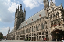 The Cloth Hall Ypres Belgium