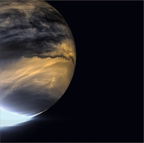 The clouds of Venus in infrared