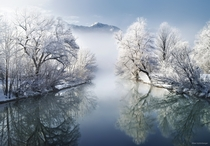 The Cold Beauty of Bavaria Germany  Photo by Kilian Schnberger xpost from rGermanyPics