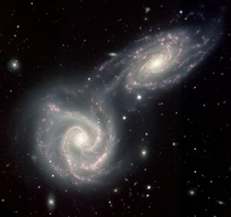 The Colliding Spiral Galaxies of Arp