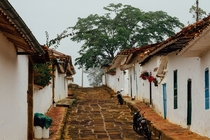 The Colombian Andes are dotted with tiny villages reminiscent of the Europe of centuries past their architecture rooted in the regions colonial Spanish and Jewish settlers Heres Barichara